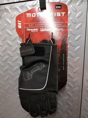 MOTORFIST WOT Glove in Black/Stealth - 50% OFF! WINTER CLEARANCE SALE!