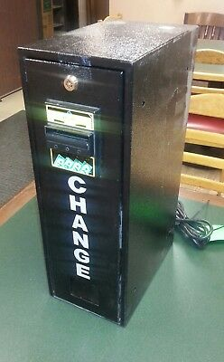 $1. and $5. bill changer machine mod #  VM-010 w/ ICT BL-700 - Tested Good