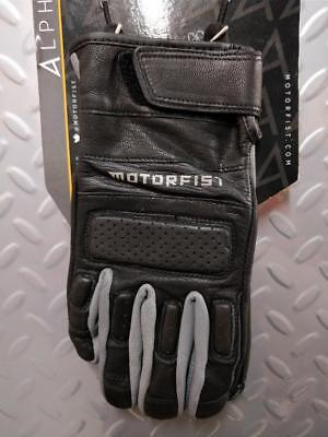 MOTORFIST Alpha Glove in Black/Stealth - 50% OFF! WINTER CLEARANCE SALE!