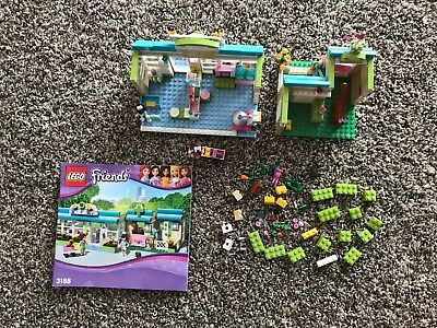 LEGO FRIENDS 3188 Heartlake Vet Complete w/ (2) replacement pieces ...
