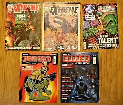 Best Of 2000Ad Judge Dredd Special Edition Winter Special Extreme Editions