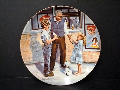 Dairy Queen Advertising 1940-90 Commemorative Plate w/box, Marian Anderson Art
