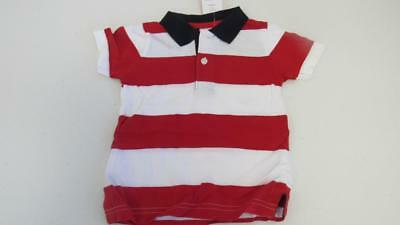 Gymboree 4th of July Red/White/Blue Golf Polo Shirt Size 12-18 Months NEW