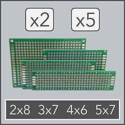 x2 x5 Double Side Prototype PCB Universal Printed Circuit Board