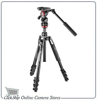 Manfrotto Befree Live Aluminum Lever-Lock Tripod Kit with bag Mfr # MVKBFRL-LIVE