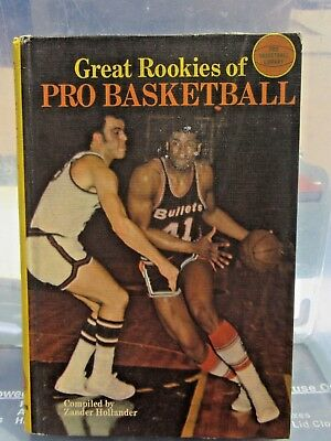 Great Rookies of Pro Basketball edited by Zander Hollander 1969 Illustrated