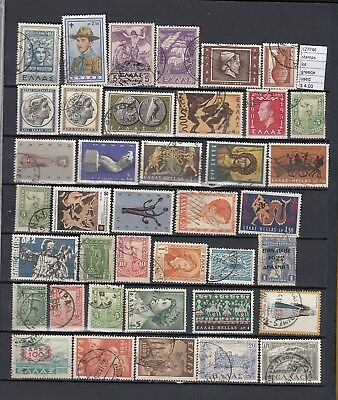 Stamps Lot  Greece Used (L27746)