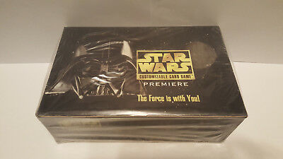 Star Wars CCG Premiere Limited Edition Booster Box - Black Border - sealed