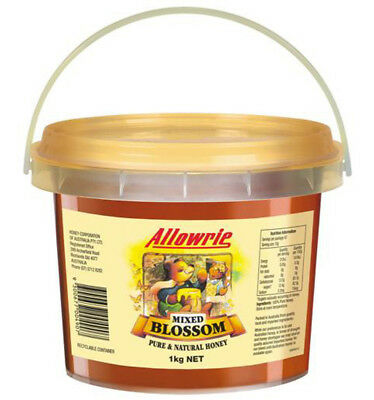 Allowrie Pail Clear Honey 1kg