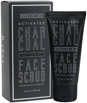 Activated Charcoal Face Scrub, Beekman 1802, 2 oz