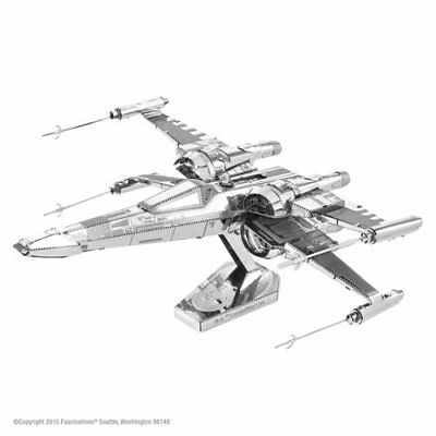 Fascinations Metal Earth Star Wars Force Awakens Poe Dameron's X-Wing Fighter 3D