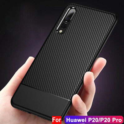 For Huawei P20 Pro/Lite Luxury Slim Hybrid Shockproof Case New Silicone Cover