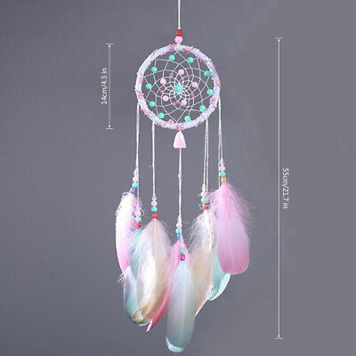 Creative Gift Dream Catcher Wall Hanging Decoration Ornament Large Feather Craft