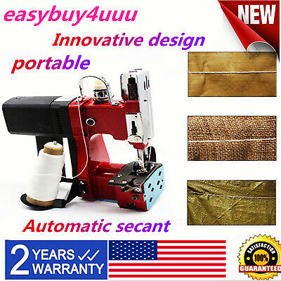 Industrial Portable Electric Bag Stitching Closer Seal Sewing Machine US PLUG