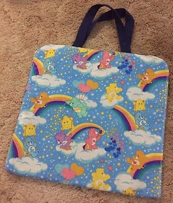 Vintage Care Bears Handmade Organizer Storage Caddy Pocket Child Kids Carebears