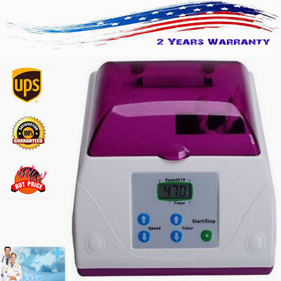 Electric Dental HL-AH High Speed Amalgamator Amalgam Capsule Mixer Lab Equipment