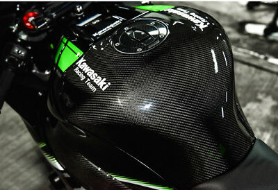 KAWASAKI ZX10R 2016 18 Cover Carbon  Fuel Tank  Pad Protection Accessories Oil