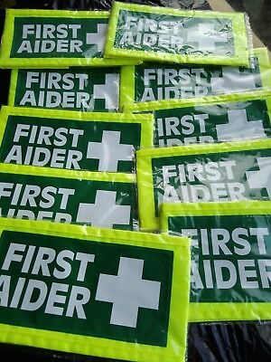 first aider armband job lot of 20