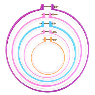 Embroidery frame embroidery ring hoop cross needle hoop - 5pcs embroidery c O2J3