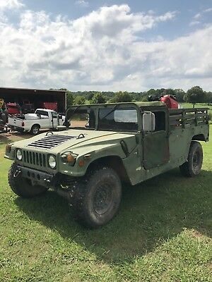 M998a1 H1 HUMMER MILITARY TRUCK Humvee 2 door soft top clean Mississippi title.