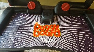 LASCAL MAXI BUGGY BOARD BLACK Very Good Condition RRP 60GBP