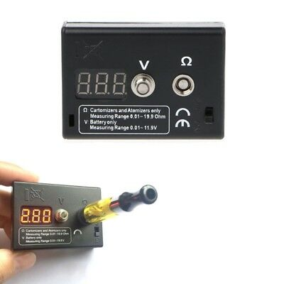 OHM Meter Resistance Tester for RDA RBA Vape Tools Voltage Tester for Battery