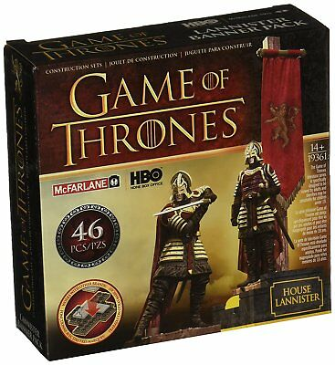 Game of Thrones McFarlane Toys Building-Sets Lannister Banner Pack