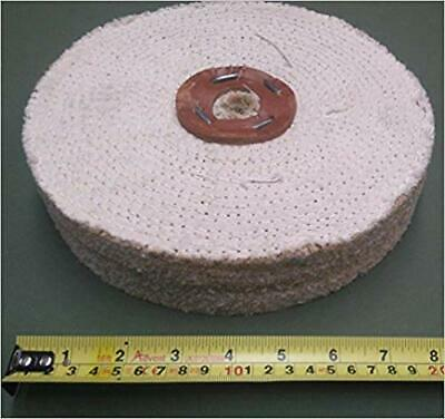 SISAL Buffing Wheel 200mm x 3 Section - fast cut polishing mop for metal  S200/3