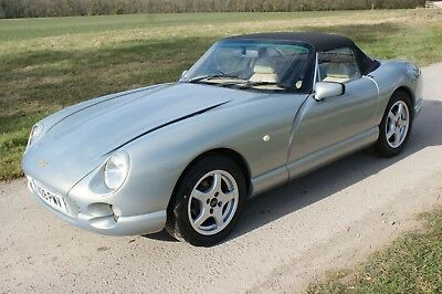 TVR Chimaera 'Unmarked' Crystal Topaz  with Lupo light conversion. PAS