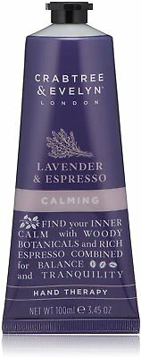 Lavender & Espresso Calming Hand Therapy, Crabtree & Evelyn, 100 ml