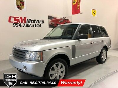 2006 Land Rover Range Rover HSE Wagon 4 Dr. 4x4 Automatic