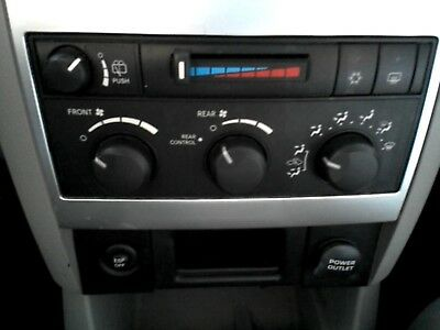 DURANGO Heater A/C Temp Climate Control front manual w/rear heat and AC 05-07