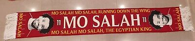 Mo Salah Liverpool Player Woven Scarf - Running Down The Wing - Egyptian King