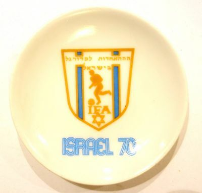 Plate Participation Israel National Soccer Team 1970 FIFA World Cup