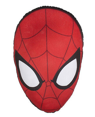 Spiderman Parker Cushion Kids Childrens Official - With Glow In The Dark Eyes!