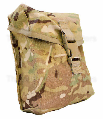 NEW MOLLE II 200 Round SAW Ammo Pouch General Utility Pouch MULTICAM