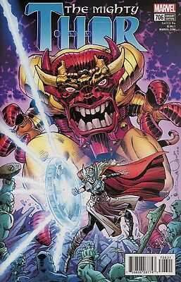 MIGHTY THOR #706 WALTER SIMONSON VARIANT MARVEL COMICS LEGACY NM 1st Print
