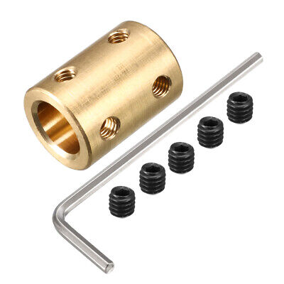 6mm to 10mm Copper DIY Motor Shaft Coupling Joint Adapter for Electric Car Toy