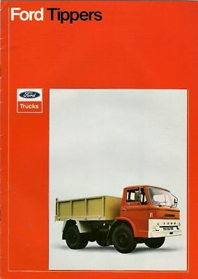 Ford D-Series Tipper 1973-74 UK Market Sales Brochure