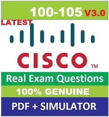CISCO icnd1 100-105  v3.0 exams questions pdf and simulator