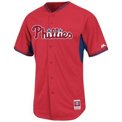 3d9926ecf Philadelphia Phillies jersey  135 Majestic Authentic On-Field BP Cool Base  NWT