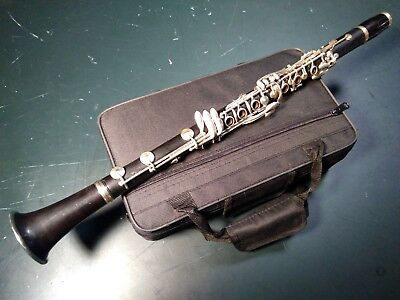 Penzel-Mueller Full Boehm Bb LP Clarinet Re-built New Pads and Corks