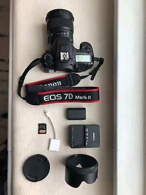 Canon EOS 7D Mark II 20.2MP Digital SLR Camera BODY ONLY (ADD ITEMS-extra$ )