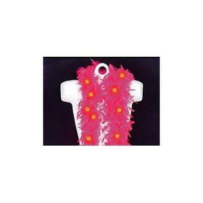 Flashing Pink Feather Boa (6' 60 gram)