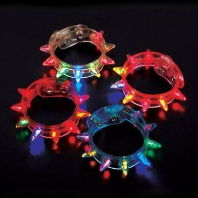 Flashing Spike Bracelet (Pack of 12)