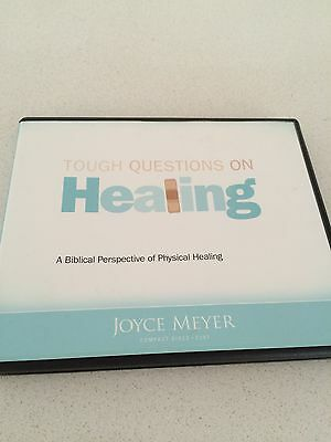 Joyce Meyer Cds Tough Questions on Healing 4 cd kit audio
