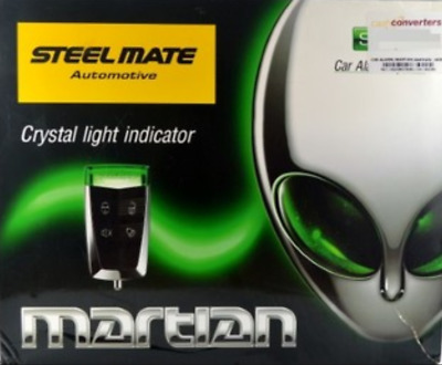 Steelmate S6086 Car Alarm System Crystal Light Indicator Remote Trunk Release