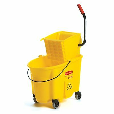 Rubbermaid WaveBrake Bucket & Wringer 35 QUART Model #:  RCP618688YW