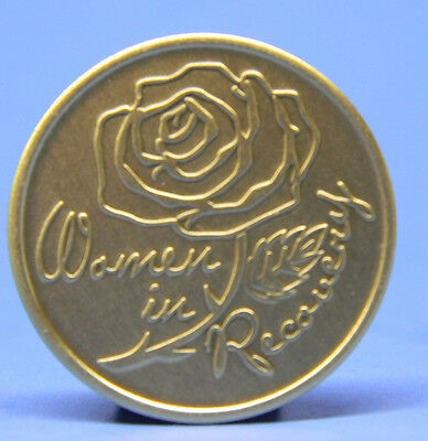 Sobriety Bronze Chip - Medallion - Women In Sobriety- Recovery -