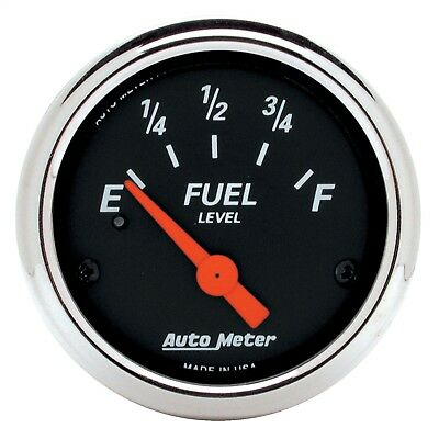 AutoMeter 1424 Designer Black Fuel Level Gauge